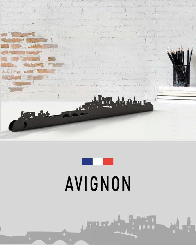 Silhouette Murale Skyline Avignon