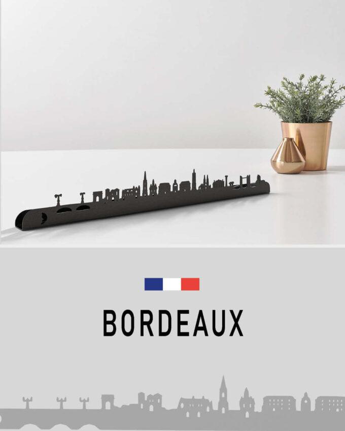 Décoration Murale Skyline Bordeaux