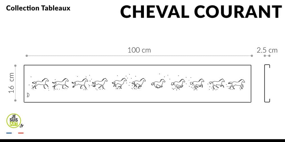 Cheval-Courant_Animaux_Tableau_white