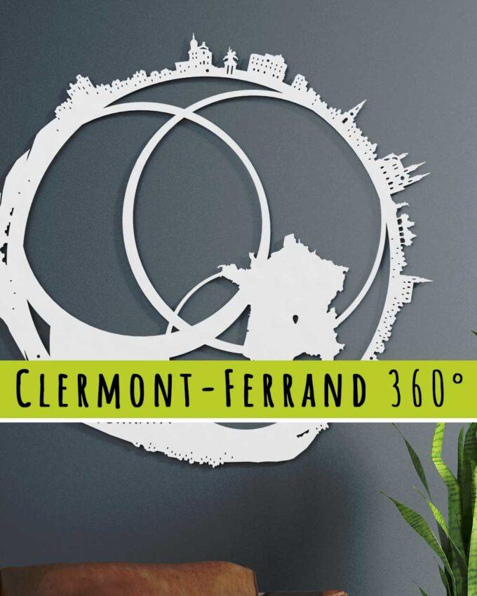 Skyline Clermont-Ferrand 360