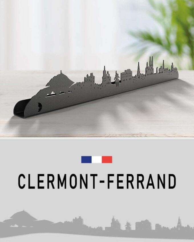 Clermont-Ferrand_silhouette Murale