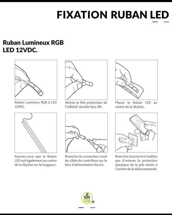 Fixation-Ruban-LED