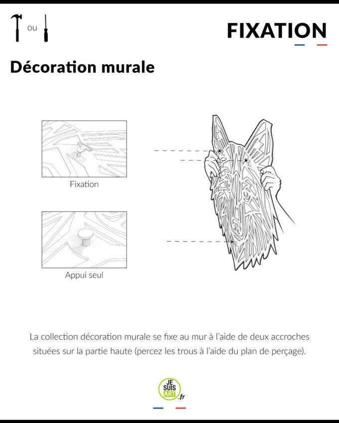 Fixation-décoration-murale