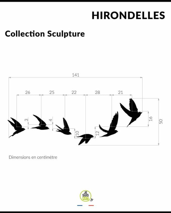 Hirondelles_Animaux_Sculpture_white