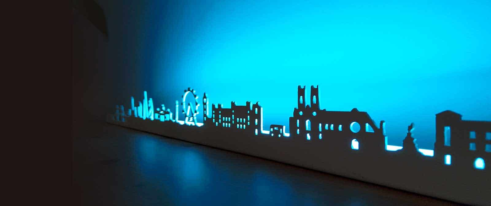 Skyline Decoration murale LED
