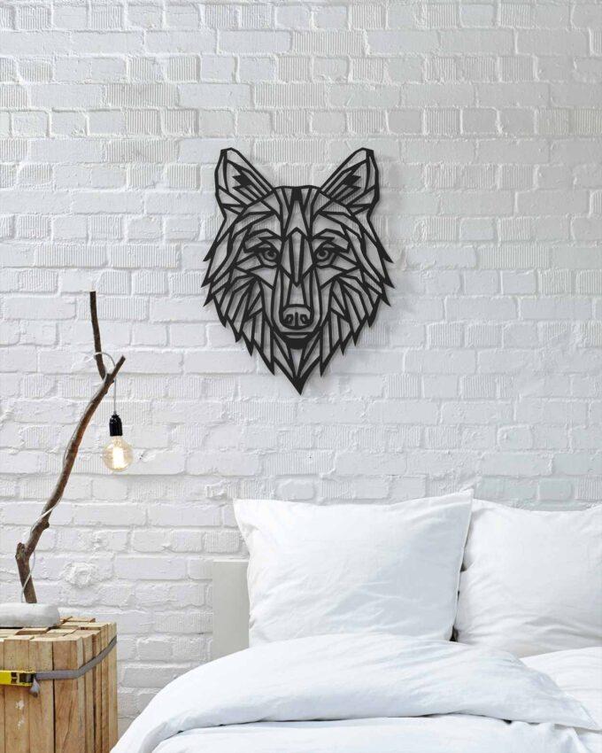 Loup Décoration Murale