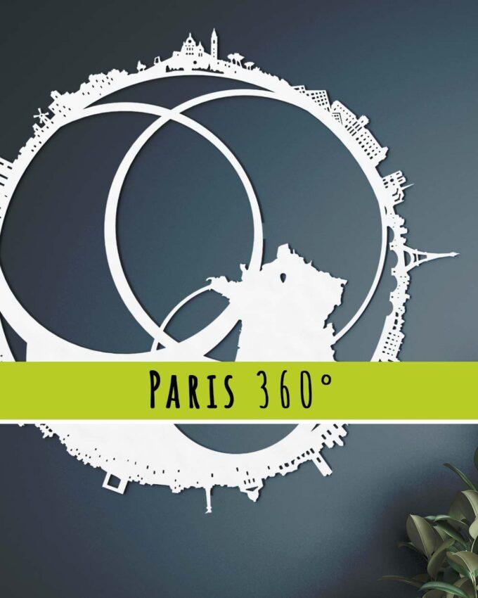 Skyline Paris 360°
