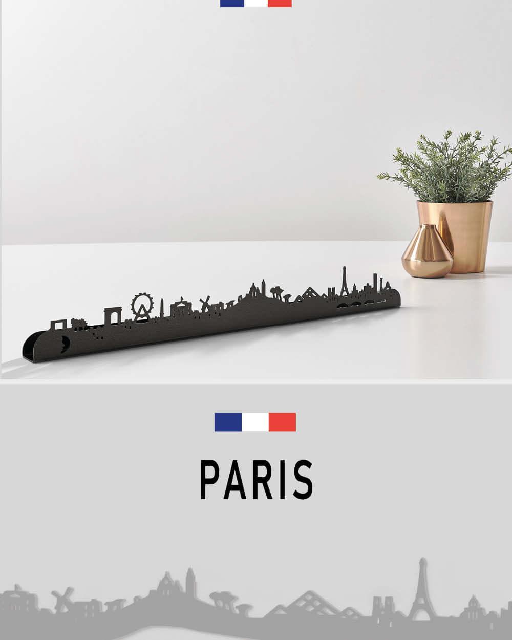 Paris, Decoration Murale en métal