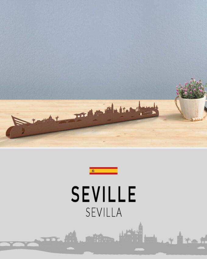 Skyline Seville Décoration murale