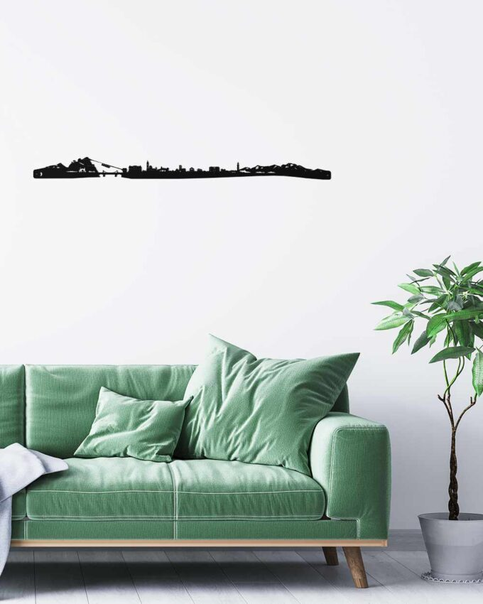 Skyline_silhouette_Grenoble