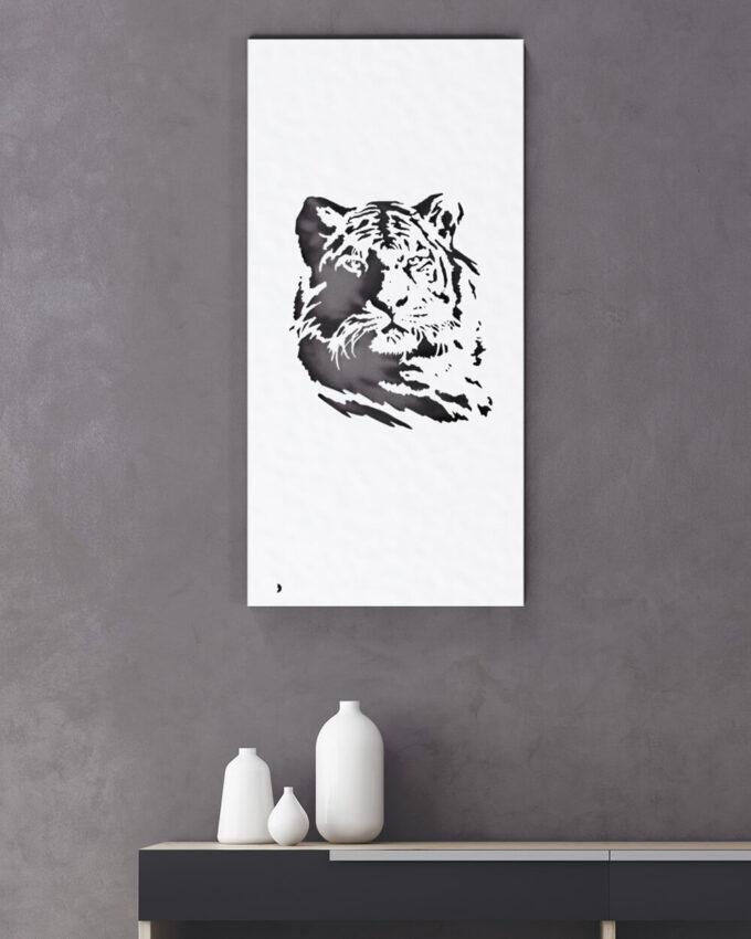 Décoration murale animaux Tigre