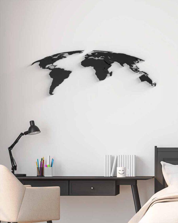 World Planisphère Décoration Murale