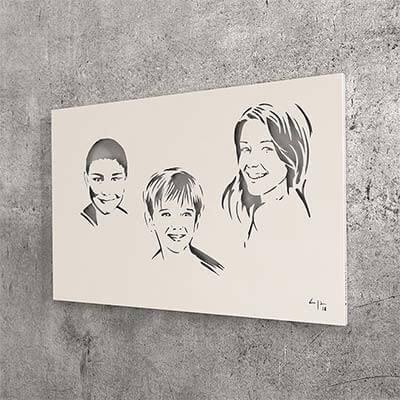 Portraits tableaux personnalisés