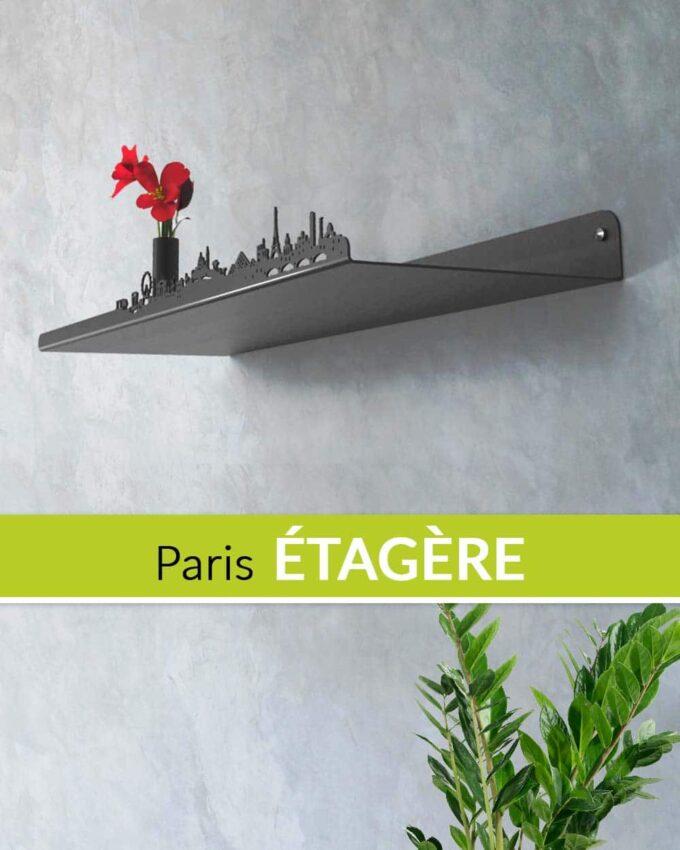 Skyline Paris Étagère