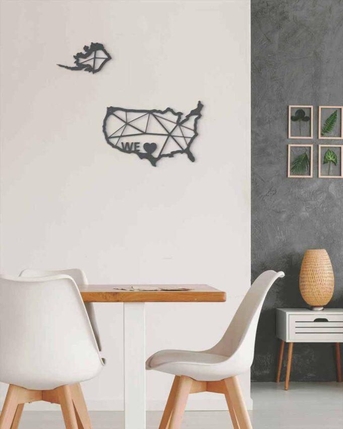We Love_USA décoration Murale_pixel